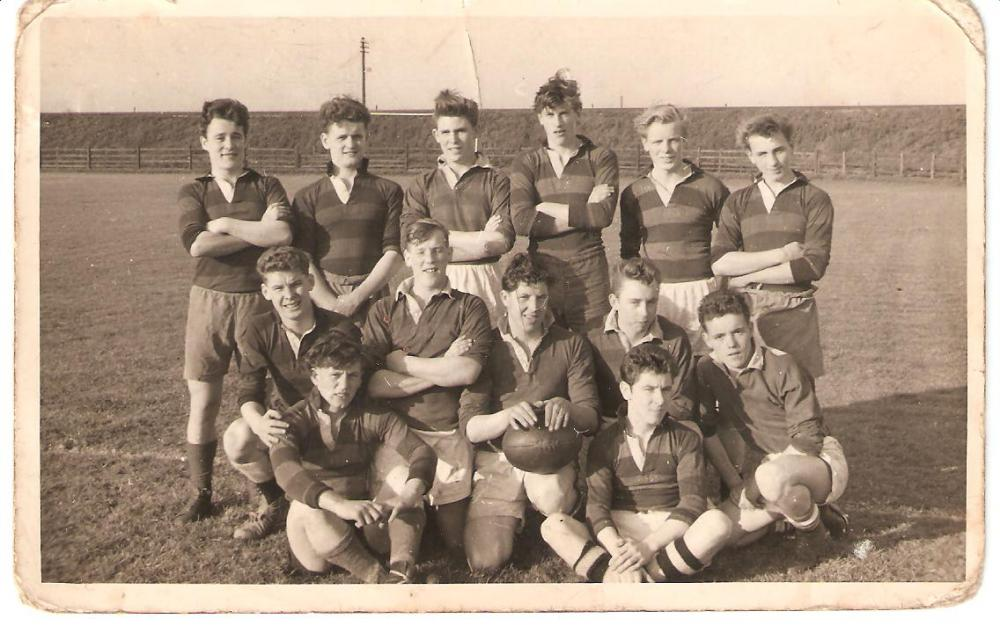 A Triangle Valve mid 1950's rugby team