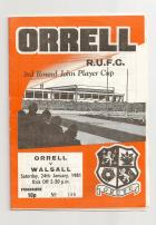 Old Programme 1981