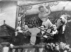 Bert hughes boxing booth wigan fair 1946
