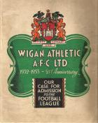 1953 application booklet for membership to the Football League.