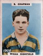 S Chapman - Pinnace Cigarette Card