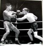 Peter Kane winning the World Title when he beat American Jackie Jurich, 1938.