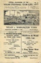 Wigan Rugby Programme1