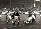 Central Park ,11th March, 1978 . Wigan v Bradford.