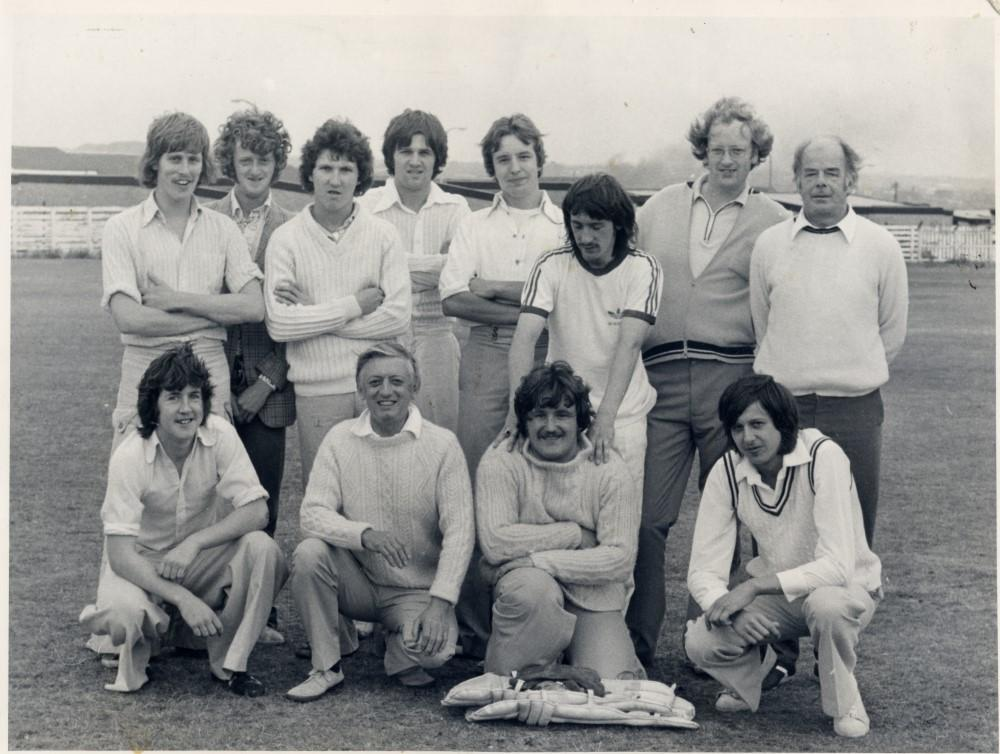 Wigan Athletic Supporters Club Cricket Team. c.1980