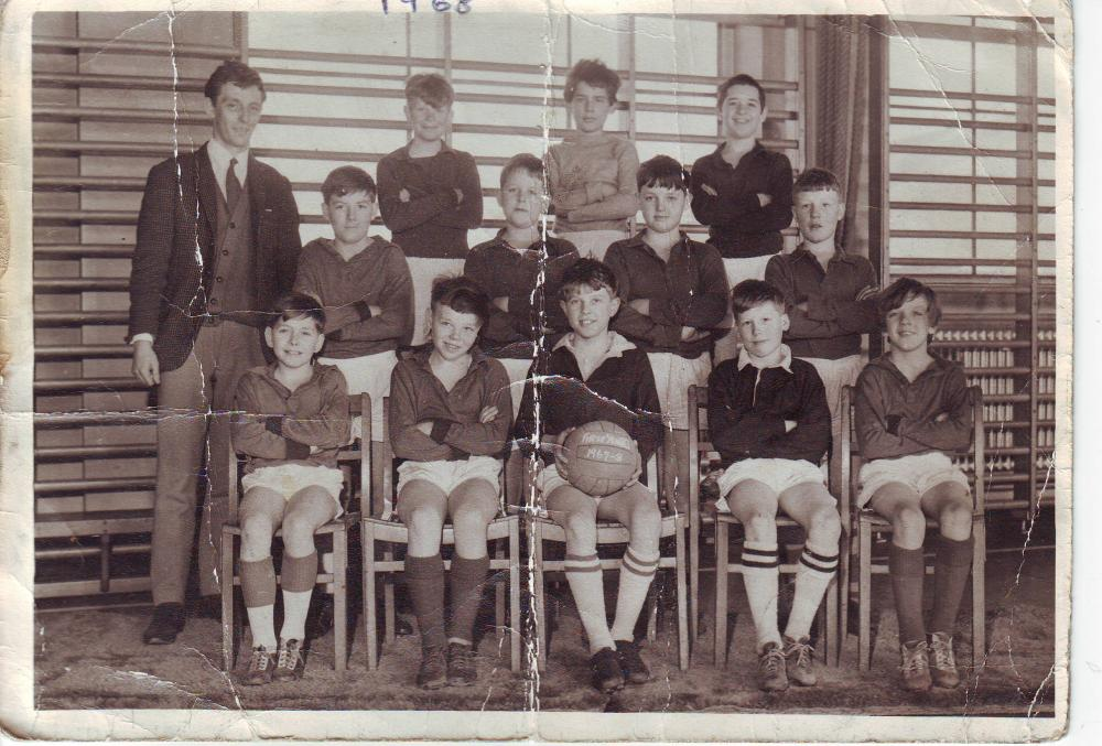 First year  football team 1967-68