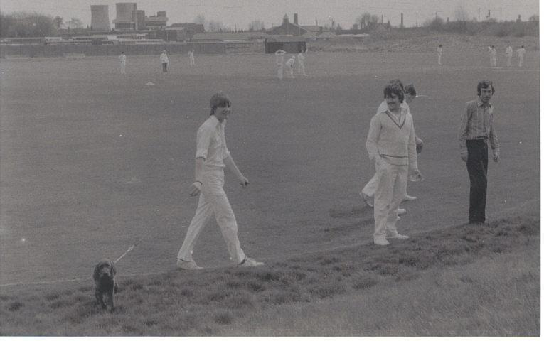 Wigan Cricket Match Late 1970s