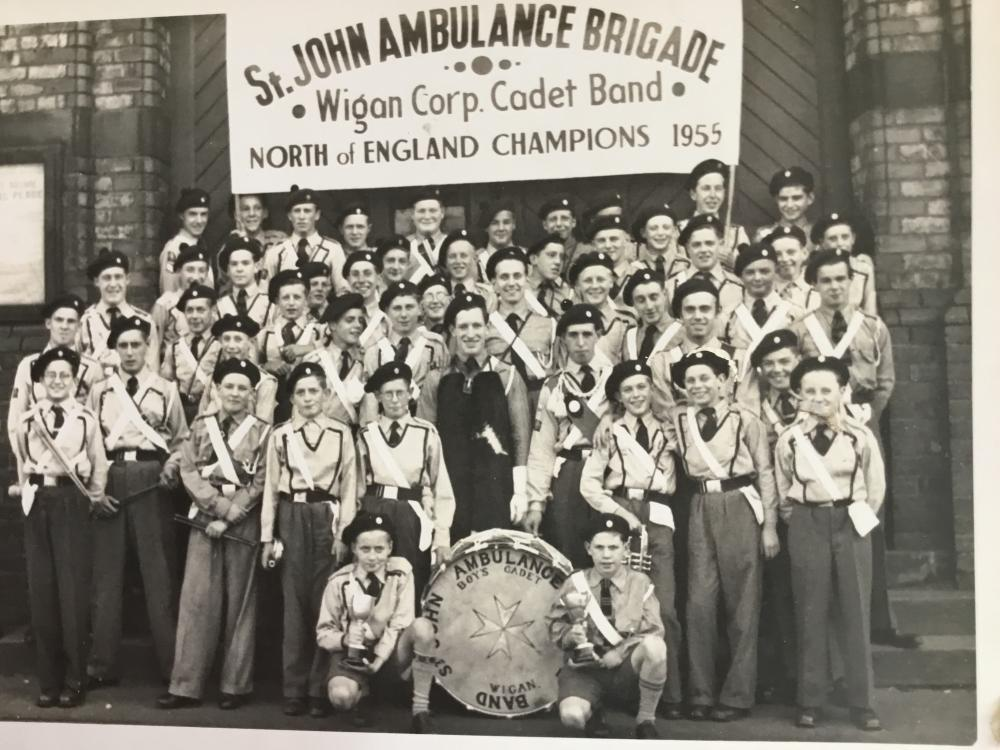 ST JOHNS AMBULANCE BRIGADE BAND