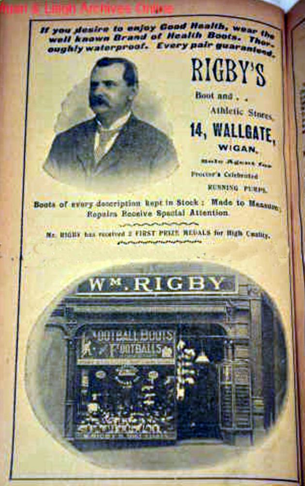'WIGAN PHOTO YEAR BOOK 1901'