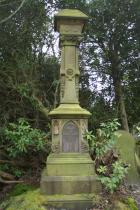 Majestic tombstone - William and Ann Smith