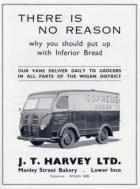 J,T. Harvey 1950's advert