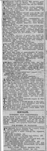 Car ads news cutting, poss Wigan Observer, 1929.
