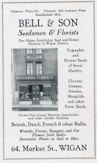 1920's Advert, Bell & Son