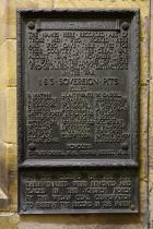 Wigan Coal & Iron Co. Pit Plaque - Sovereign Pits, Westleigh