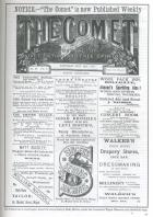 Front Page. THE COMET Dated May 20th 1893
