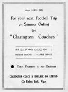 Clarington Coaches, Birkett Bank, 1956.