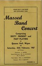 Wigan Boys Club Band programme 1