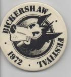 badge from Bickershaw Festival
