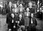 St Catharine's 5th Wigan Girl Guides - Divisional Cup Winners Sept 1952