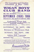 Wigan Boys Club Band 1950
