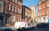 Post Office, Bees Knees and Wigan Parish Church