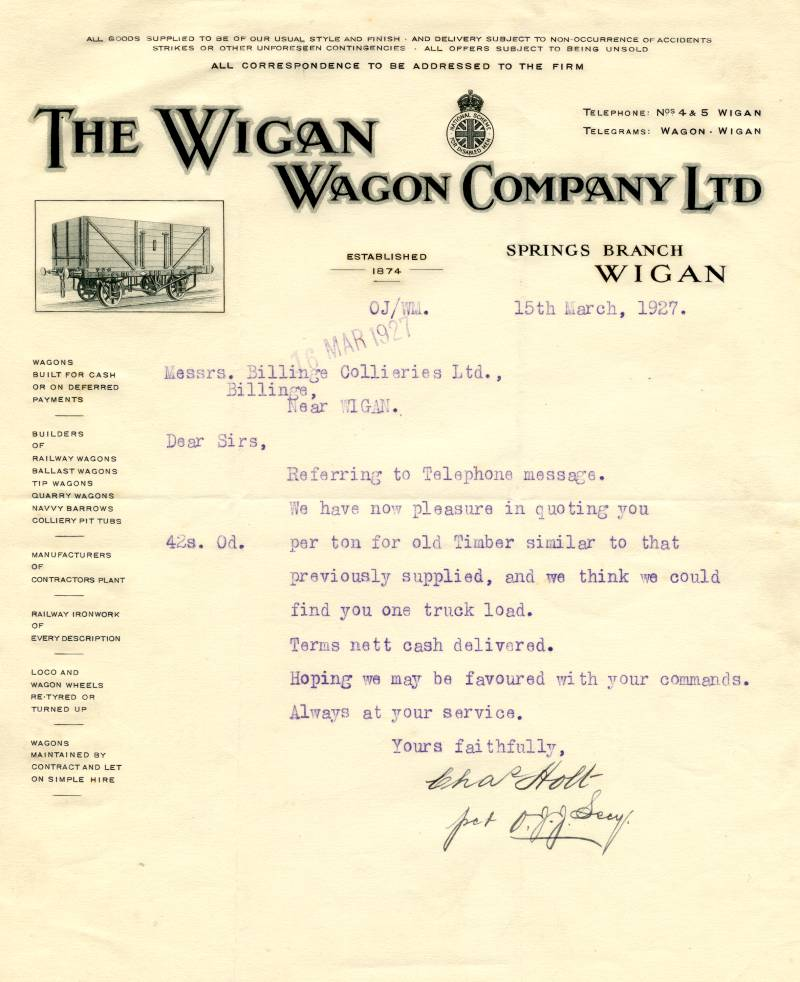 The Wigan Wagon Company Ltd