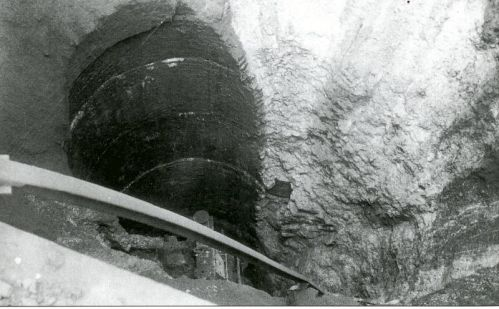 Shaft of the New Zealand Pit