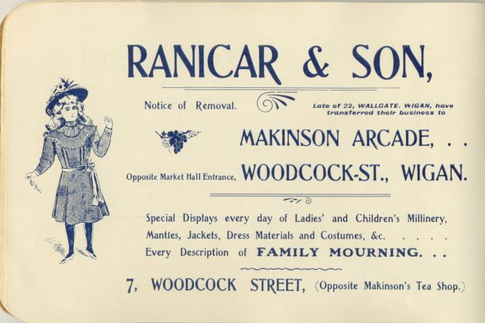 Ranicar & Son, Clothing, Wigan