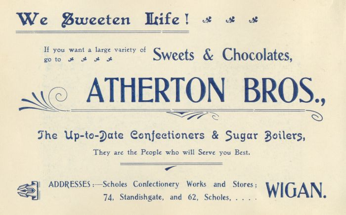 Atherton Brothers, Confectioners