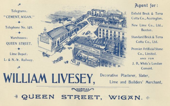 William Livesey, Builders' Merchant, Wigan