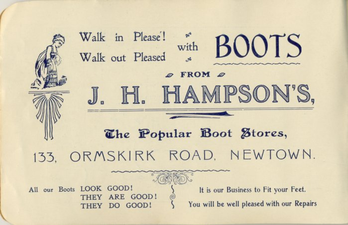 J. H. Hampsons, Boot Store