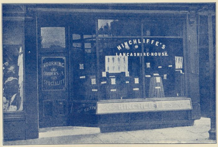 Hinchliffe's, Tailors, Hindley