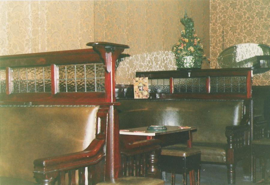 The back lounge
