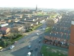 View from top of Boyswell House.
