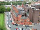 View from the top of Wigan Parish Church tower, October 2008