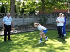 Cansfield High School bowling at Garswood Hall Bowling Club