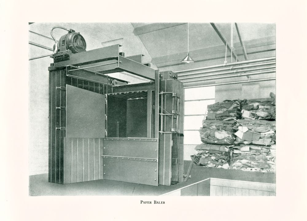 Cleansing Department, Official Opening, May 12th, 1938