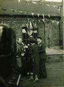 The King visits Wigan after the War