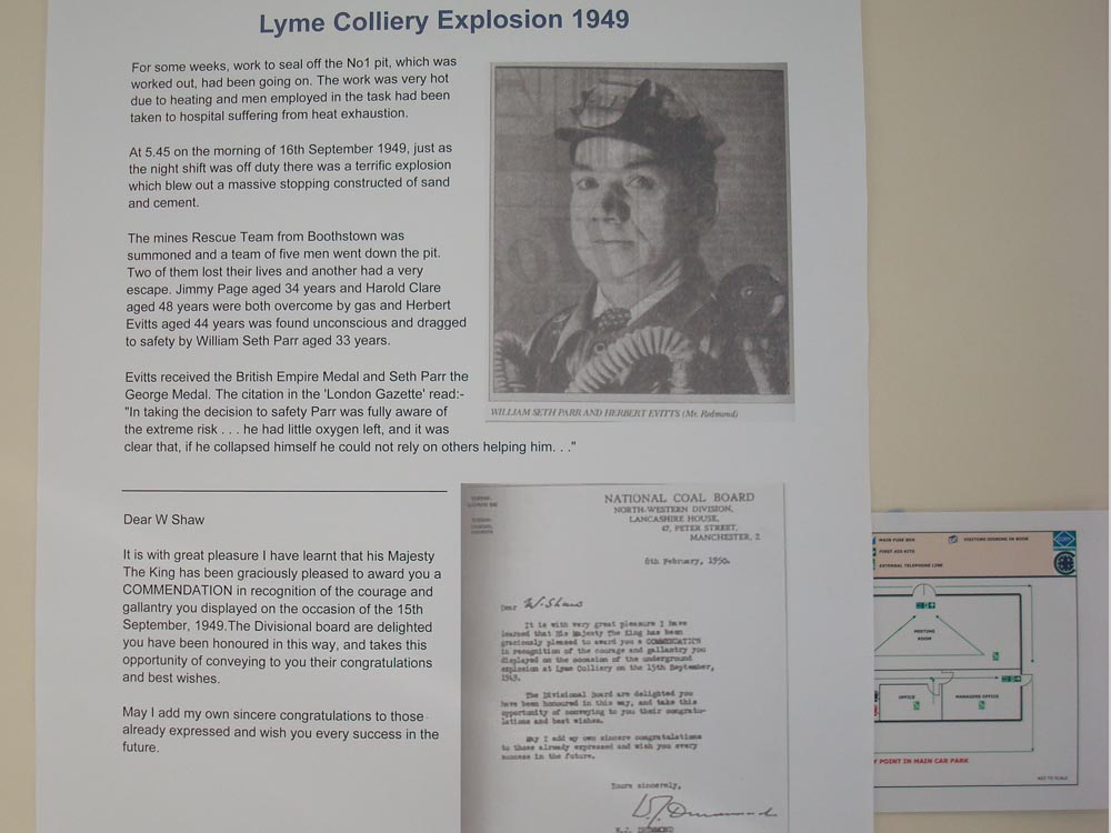 Unveiling of Lyme and Wood Pit Mining Memorial