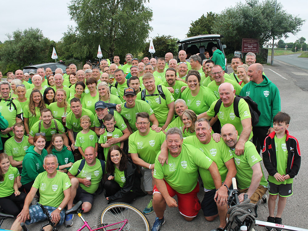 Charity Bike Ride, 2nd June, 2018