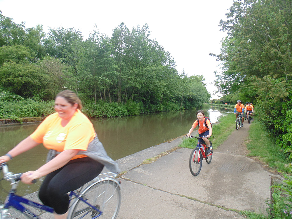 Charity Bike Ride, 1st June, 2019