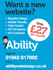 Ability Web Design, Wigan