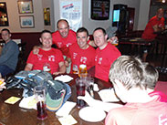 Pub 8 and final stop, Sam's Bar, Scholes