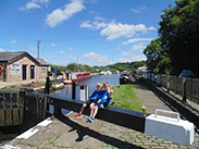 The Top Lock at Wheelton