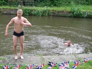 Swimming in the canal