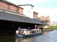 Hen party arrives at Wigan Pier