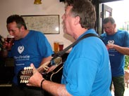 Sing a long at the Railway at Parbold