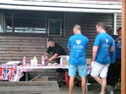 Barbecue at the Water's Edge, Appley Bridge
