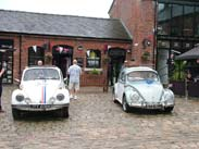 Herbie and another Beetle at Burscough