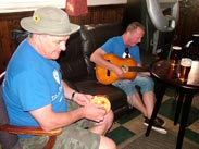 Sing a long at The Railway, Parbold